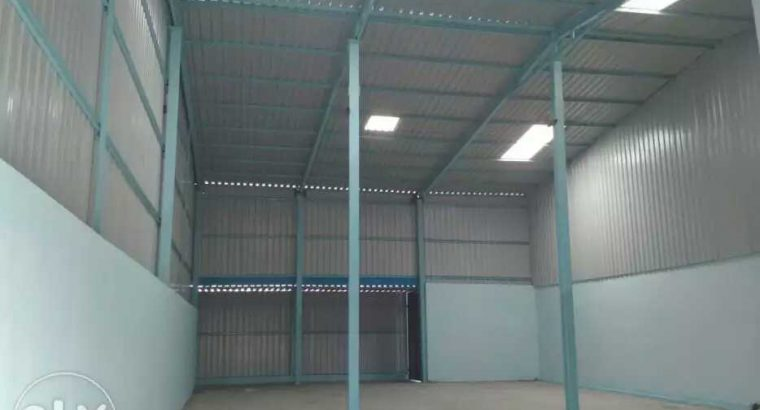 Warehouse available on lease in Chatral