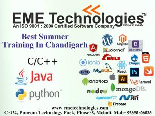 Best Summer Training In Chandigarh