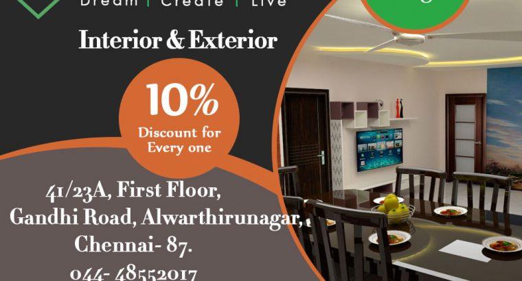 Modular Kitchen. Modular Kitchen in Chennai. The Best Interior In Chennai. Style My Space Interior.