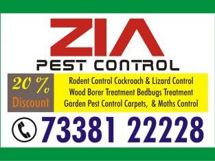 Bangalore ZiaPest Control Service | 20% Discount | 73381 22228