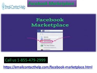 Feel free to ring on the helpline number 1-855-479-2999 to fix Facebook Marketplace issue
