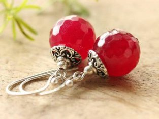 Red Stud Earrings at Lowest Price