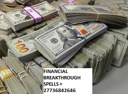 A great financial breakthrough with immediate money spells +27736842646