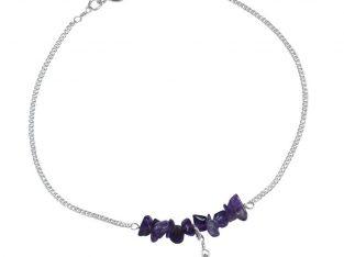 Purple Anklets For Women at Best Price