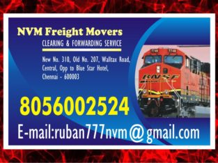 NVM Freight Movers to door step service | (Rly. Clearing & Forwarding Service) | 1057 |