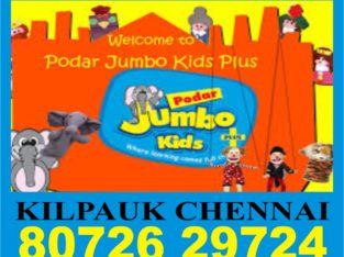 Podar Jumbo Kids Plus   8072629724   Kilpauk Chennai   1111   Preschool