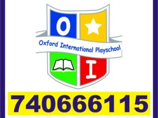 Oxford Online Preschool | RT Nagar | Junior Kg | Senior | 7406661115 | 1255 |