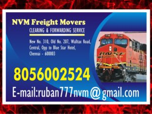 Chennai Rly. Clearing & Forwarding Service | 8056002524 | Freight Movers | 1527 |