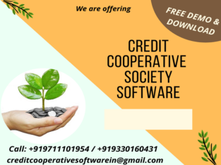 Get Free Demo Cooperative Society Software in India