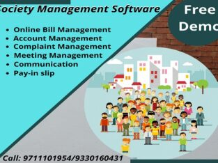 Society Management Software with Free Demo in Delhi